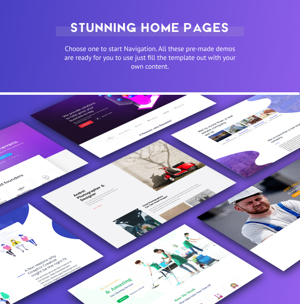 Layouts for Elementor Pro Stunning Home Pages